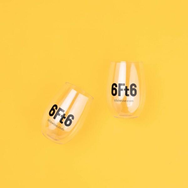 6Ft6 reusable glasses