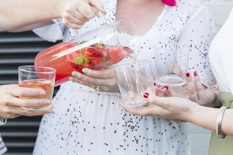 White Wine Watermelon Sangria