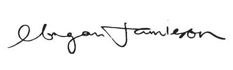 Morgan Jamieson signature