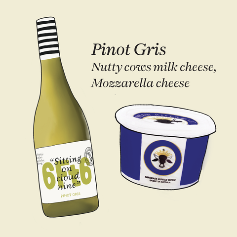what cheese to pair with pinot gris