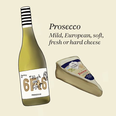 what cheese to match with prosecco