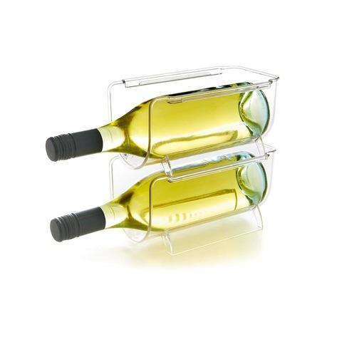 stackable wine bottle holder