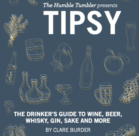 tipsy the wine book by Clare Burder